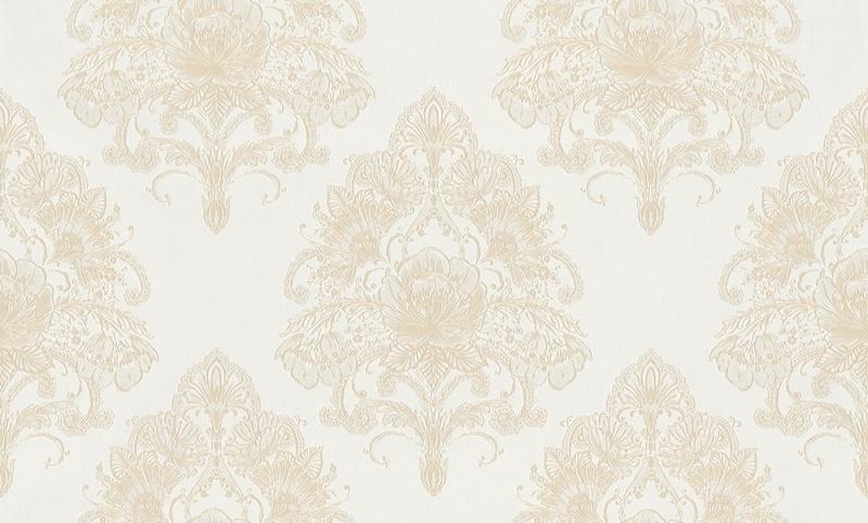 937441 La romantica beige creme wit behang