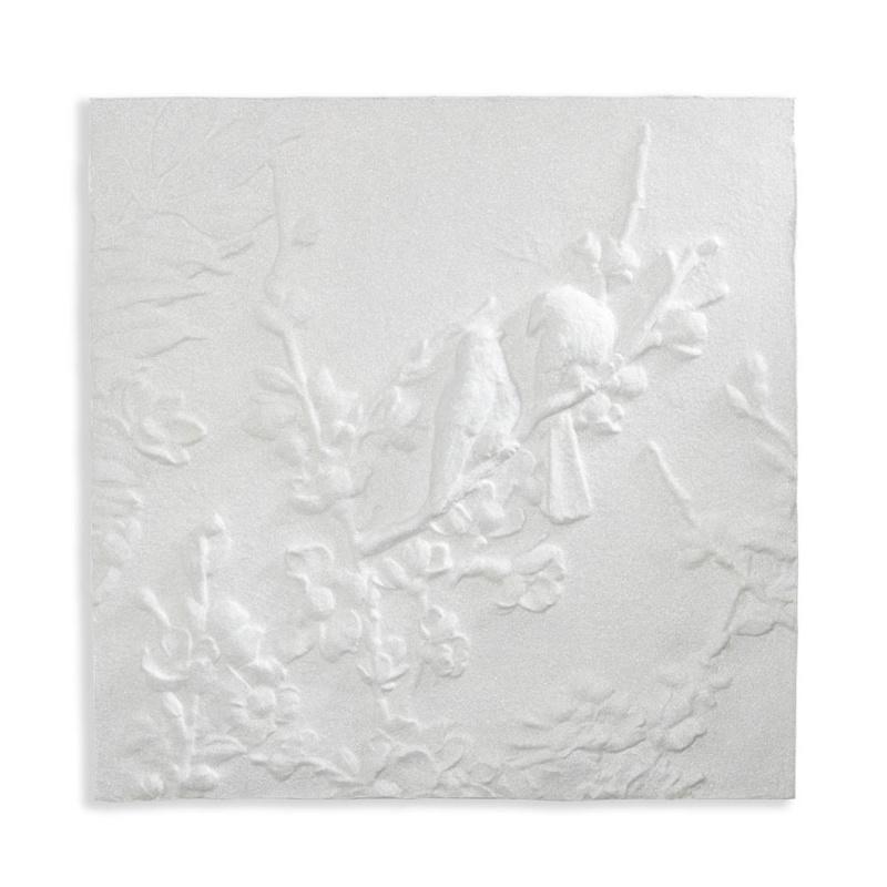 Arthouse Katarina canvas White 3D Glitter Blossom & Birds 004301