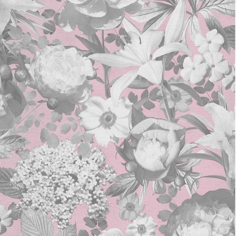 Bloemen vlies behang 02507-10