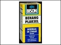 bison blauw behangplaksel