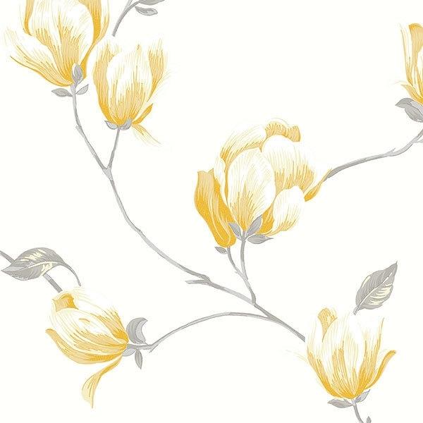 Norwall English Florals bloemen behang G34323