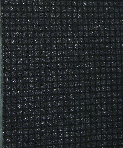 zilver zwart glitter vierhoek behang