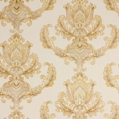 Hermitage behang ornamenten goud Metallic 33546-3