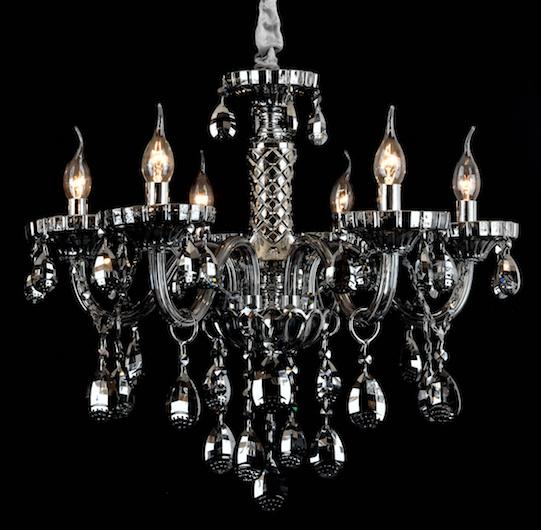 KROONLUCHTER KLASSIEK PENDANT LAMP GHROME 86017-6