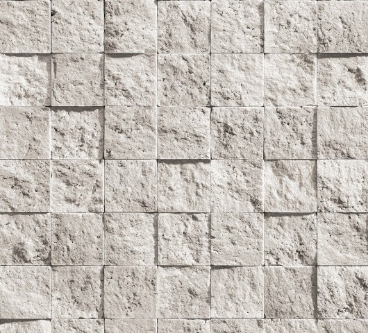 bluff natuursteen steen vinyl behang beige creme