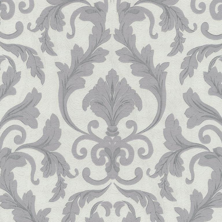 02264-40 grijs stijlvol barok behang