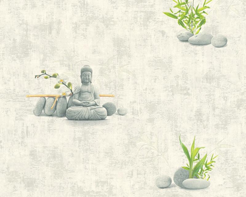 Decor Boedha behang 32138-1