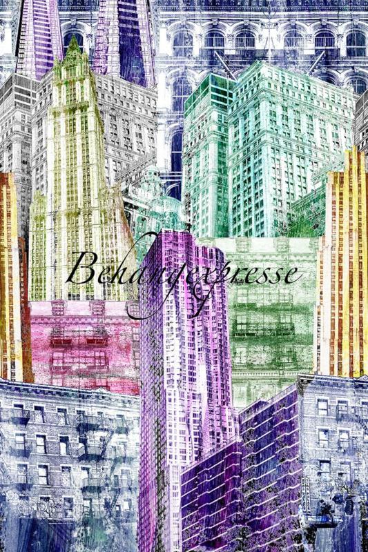 Behangexpresse COLORchoc Wallprint NY Colors INK 6066