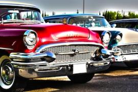 Fotobehang - Oldtimers - Buick 3