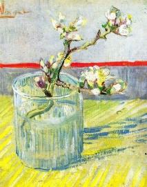 Schilderijbehang - Van Gogh - Almond Blossom