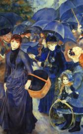 Schilderijbehang - Renoir - The Umbrellas