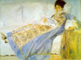 Schilderijbehang - Renoir - Le Figaro