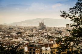 Fotobehang - Barcelona - Sagrada Familia