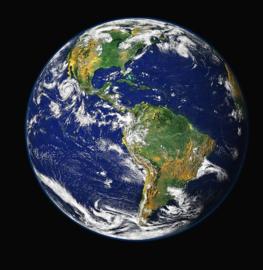 Fotobehang - Planeet aarde