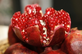 Fotobehang - Fruit - Granaatappel - Pomegranate