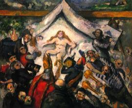 Schilderijbehang - Cézanne - Female