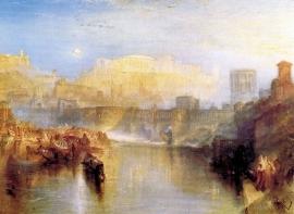 Schilderijbehang -Turner - Ancient Rome