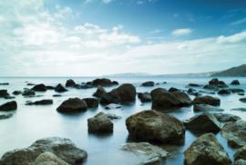 Fotobehang - Strand te Zweden