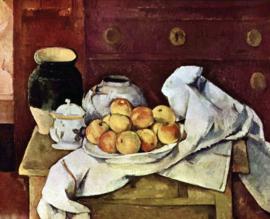 Schilderijbehang - Cézanne - Stilleven - Still Life