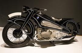 Fotobehang - Motoren - Motorcycle BMW 1934 - R7