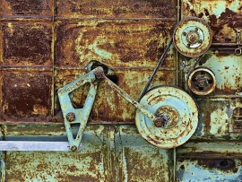 Fotobehang - Roest 1 - Rusty 1