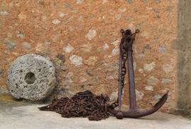 Fotobehang - Stilleven - Anker - Anchor