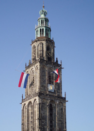 Fotobehang - Martinitoren Groningen