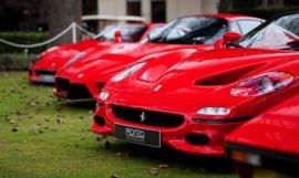 Fotobehang - Ferrari Rosso
