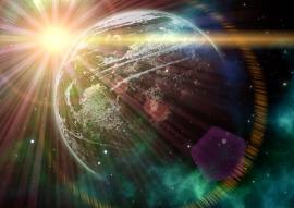 Fotobehang - Kosmos - Impression