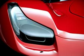 Fotobehang - Ferrari - headlight