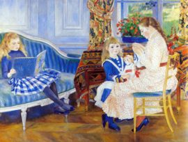 Schilderijbehang - Renoir - Children in the afternoon