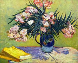 Schilderijbehang - Van Gogh - Still life with Oleander