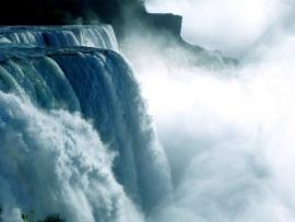 Fotobehang - Waterval - Niagara waterval 2