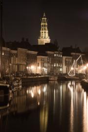 Fotobehang - Groningen Hoge der A ( staand )