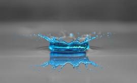 Fotobehang - Macrofotografie - Waterdruppels 6 - Drops of Water 6