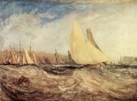 Schilderijbehang -Turner - Regatta
