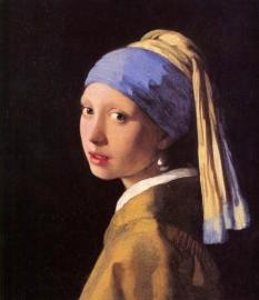 Schilderijbehang -Vermeer - Het Meisje met de Parel