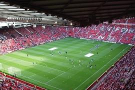 Fotobehang - Manchester United - Stadion Old Trafford
