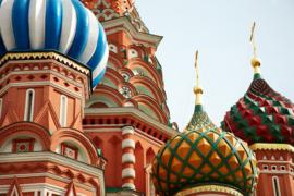 Fotobehang - Moskou - Moscow Sint Basil