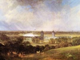 Schilderijbehang -Turner - London