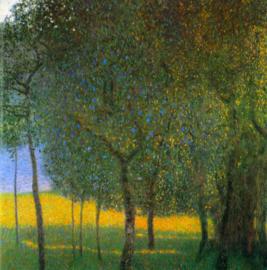 Schilderijbehang - Klimt - Fruit Trees