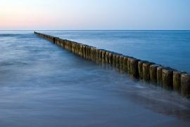 Fotobehang - Zee - Zeehoofd - Groynes