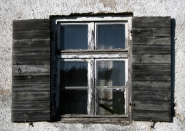 Fotobehang - Stilleven - Venster 3 - Window 3