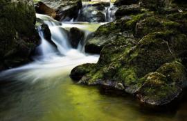 Fotobehang - Ierland - waterval