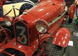 Fotobehang - Alfa Romeo - rood