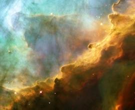 Fotobehang - Kosmos - Omega Nebula