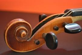 Fotobehang - Muziek - Detail Viool