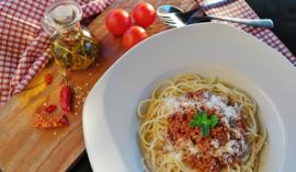 Fotobehang - Eten - Spaghetti