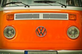 Fotobehang Volkswagen bus - VW van
