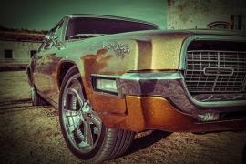 Fotobehang - Oldtimer - Classic Car Ford